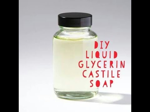 liquid castile soap diy liquid glycerin castile soap only2 ingredients 30432