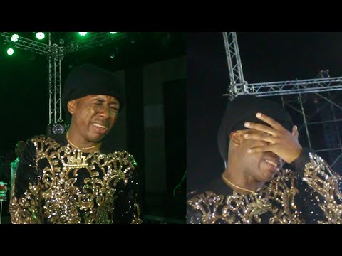 WATCH HOW SMALL DOCTOR SHED TEARS SEEING THE TURNOUT OF FANS @ OMO BETTER CONCERT 2