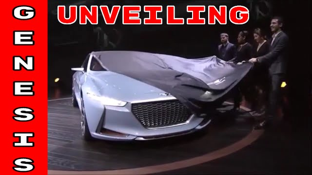 Hyundai Genesis New York Concept Unveiling Youtube