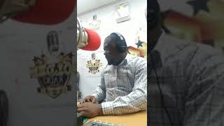 Counsellor Lutterodt is live on golden radio with Tiwah Yaa