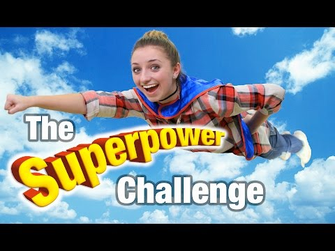 Superpower Challenge | Brooklyn and Bailey