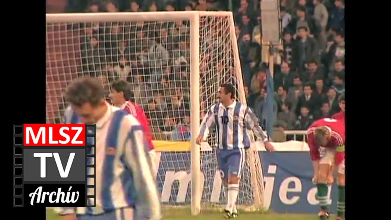 Azerbajdzsán-Magyarország | 0-3 | 1996. 11. 10 | MLSZ TV Archív