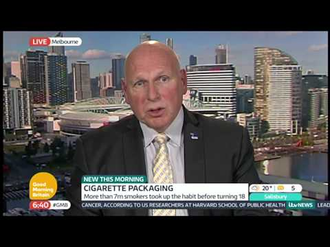 Cigarette Packaging Debate   Good Morning Britain