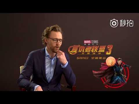 Tom Hiddleston describes Marvel characters in one word