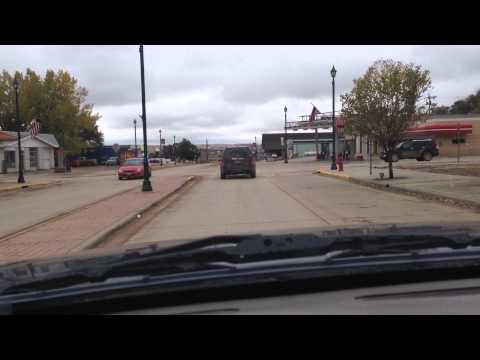 A trip through Watford City, ND from the north.