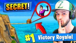 The *SECRET* BUILDING STRATEGY in Fortnite: Battle Royale! thumbnail