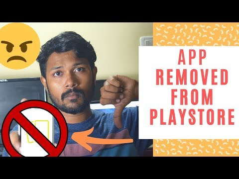 App Removed From Android Play Store   Privacy Policy Violation   FIXED!
