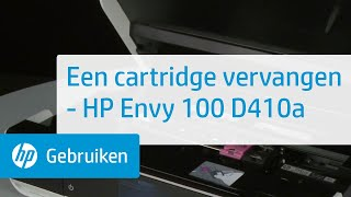 Een cartridge vervangen - HP Envy 100 D410a