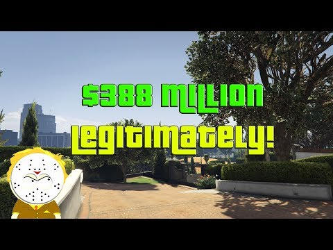 GTA Online Grinding to $388 Million Legitimately And Helping Subs