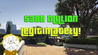 GTA Online Grinding to $388 Million Legitimately And Helping Subs thumbnail