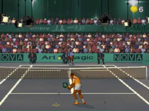 Ultimate Tennis ~1993 Art & Magic~ Arcade MAME ultennis