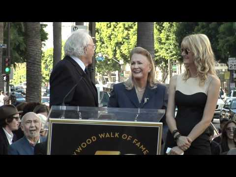 Download Youtube: Diane Ladd, Laura Dern and Bruce Dern receive Stars on the Hollywood Walk of Fame