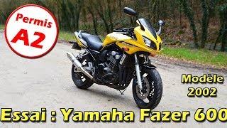 MotoVlog #62 / Essai : Yamaha Fazer 600 - Le comparatif