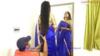 Valentine Sensation Girl's Long Hair Play by Man