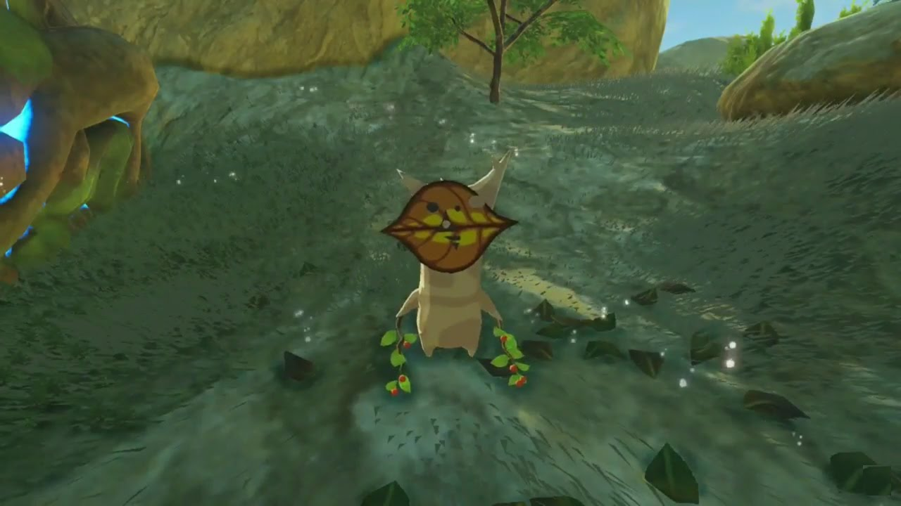 Zelda Breath Of The Wild Korok Seeds Ridgeland Tower