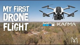 Drone Footage GOPRO Karma  First Flight  (Tips, Review & Test Flight)