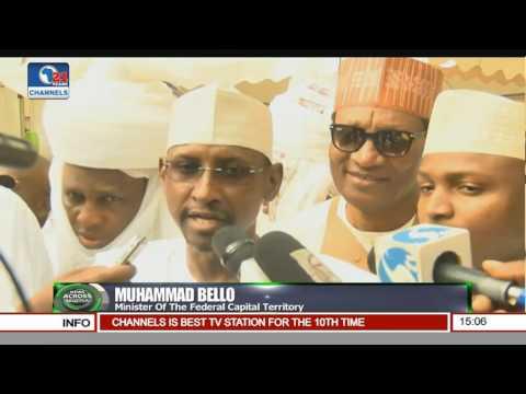 News Across Nigeria: Buhari Says Nigeria's Unity Not Negotiable Pt 1