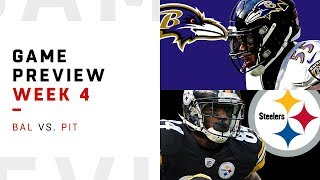 Baltimore Ravens vs. Pittsburgh Steelers | Week 4 Game Preview | Move the Sticks