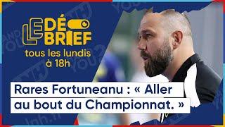 Débrief de la 22ème journée avec l'entraineur du Saint-Raphaël Var Handball