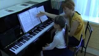 Мараховская Александра Николаевна. Работа над педалью на нач.этапе обучения