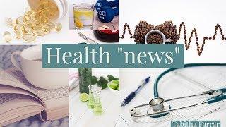 "Health ""news"""