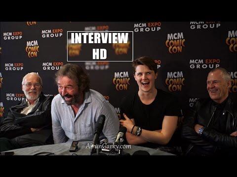 MCM London 2016: Game of Thrones   Eugene Simon, Ian Beattie, Ian Gelder & Ian McElhinney