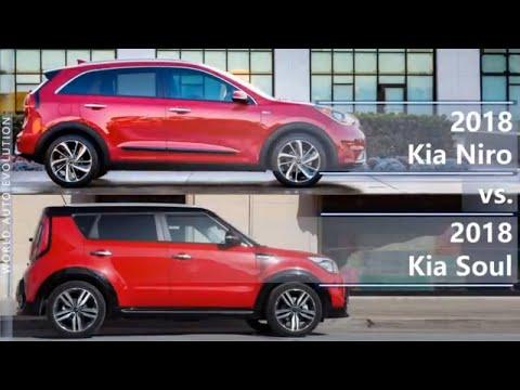 2018 Kia Niro Vs 2018 Kia Soul (technical Comparison)