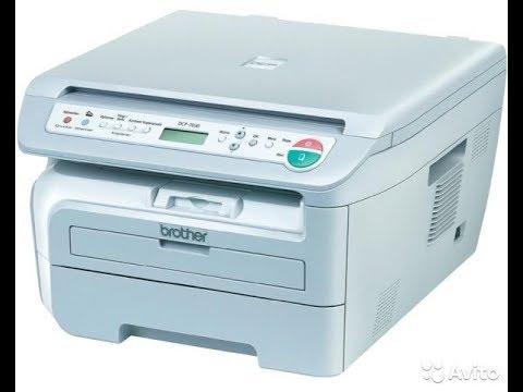 Brother DCP-T500W: печать текста и изображения - YouTube