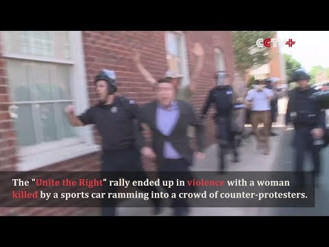 Thumbnail: Crowd Attacks White Nationalist Rally Organizer in Charlottesville