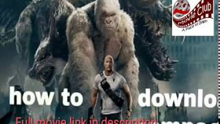 Rampage full movie 2018 link in description