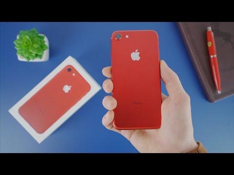 iPhone 7 Rouge Spécial Edition - Déballage et prise en main
