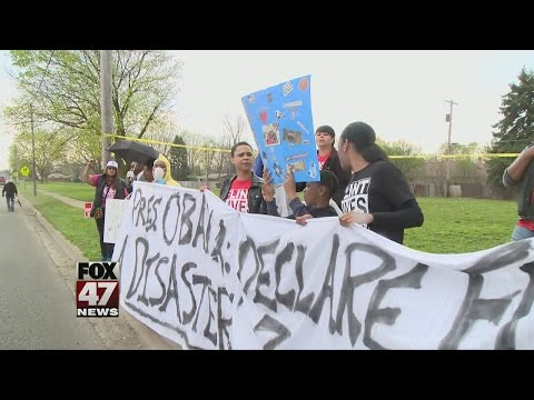 Flint community reacts to President's visit