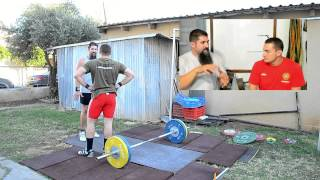 Norik Vardanian: Basic VS Contest Prep Training