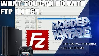 What you can do with FTP on PS4