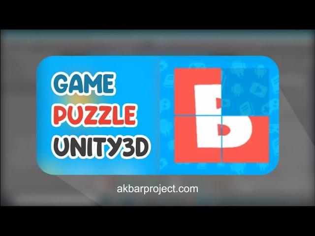 Tutorial Membuat Game Puzzle Menggunakan Untiy3D