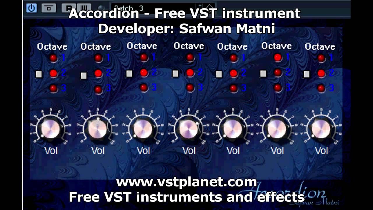 Accordion - Free VST instruments - vstplanet com - YouTube