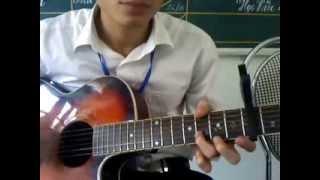 Trái tim bên lề guitar solo - quanghuy (mới tập chơi) T_T