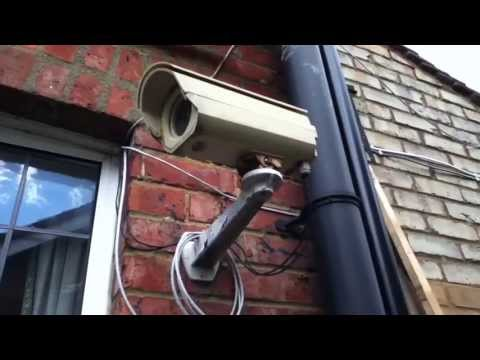 Converting IP Network CCTV Security Camera to Solar Power