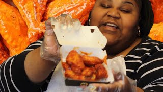 BLAZIN BUFFALO WILD WINGS CHALLENGE| PRISSY P Video