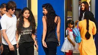 SRK With Daughter Suhana,Aishwarya Rai,Aaradhya,Hrithik Others At Ambani International School Day