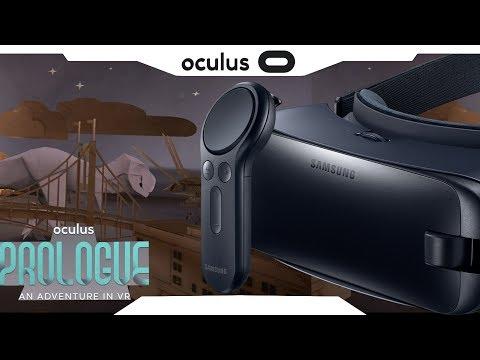 BORA JOGAR►Oculus Prologue com Controle • Samsung Gear VR Gameplay • Realidade Virtual • GearVR 2017
