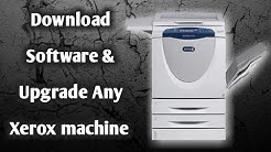 How to Download Software and Upgrade  Xerox machine (URDU/HIND )TRW