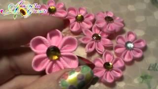 Vlog creativo 12 | My Nail Design, Bigshot, Kanzashi, sacchetti, bottoni fimo.