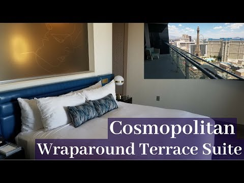 The Cosmopolitan Las Vegas - Wraparound Terrace Suite