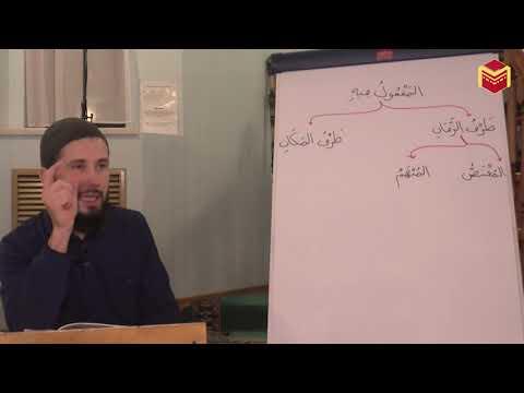 Синтаксис арабского языка. Шарх Мукаддима аль-Аджрумия - Урок 40