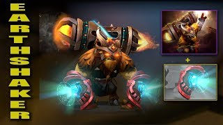 Dota 2 Plus Earthshaker Best Mix Set With Immortal (Tectonic Implications-Bracers Of The Cavern)