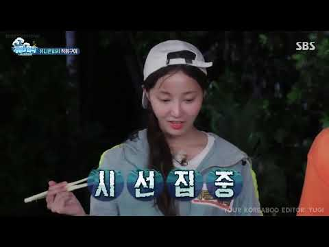 LAW OF THE JUNGLE: MOMOLAND YEONWOO SCENES English Subtitle Pt.1