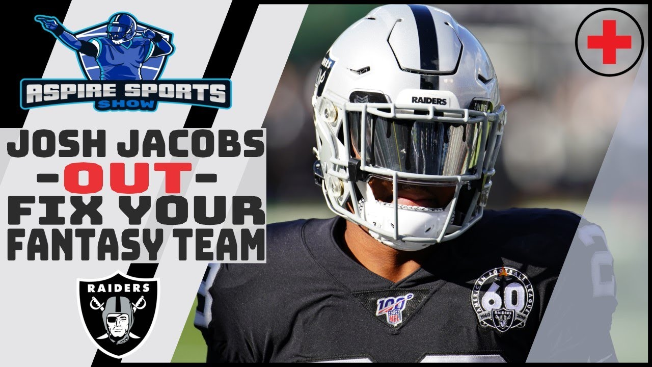 Raiders RB Josh Jacobs (ankle) will not play vs. Jets