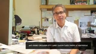 Nag basketball si Larry Gadon!