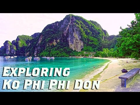 Phi Phi Island Exploring